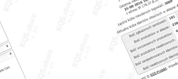 nowa wersja sklepu kqs 4.3