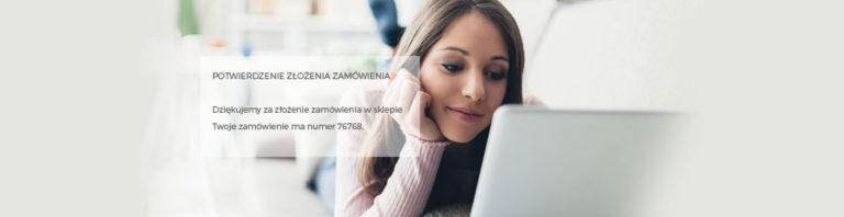 Komunikaty wiadomości e-mail wysyłanych przez sklep