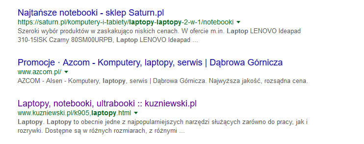 title nagłówki w kqs google