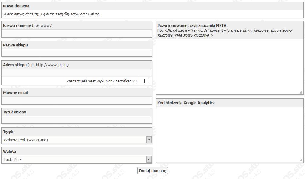 domeny multilanguage kqs