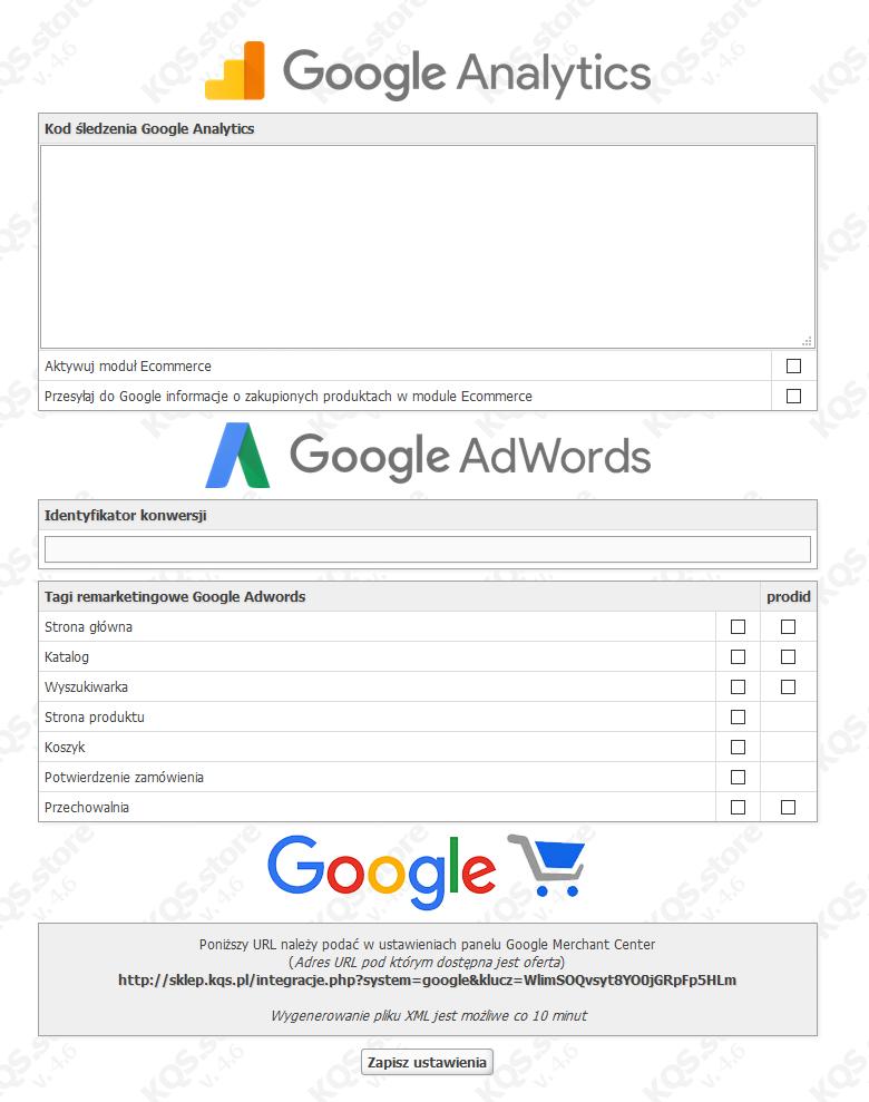 google analytics konwersja kqs