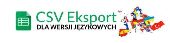 Eksport Import opisów i kategorii dla wersji językowych