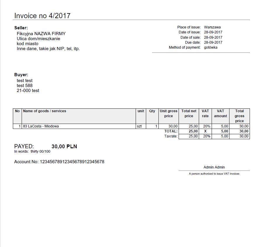 invoice kqs