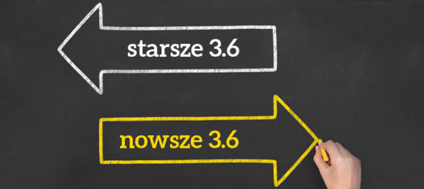 aktualizacja kqs wersja minimum 3.6