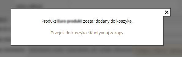 koszyk kqs
